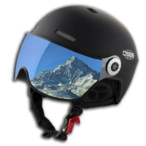 OSBE Aire Visor Skihelm White Carbon-Look