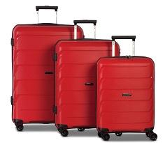 Worldpack Capri Kofferset 32/59/92 Liter Rood 3-delig
