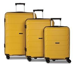Worldpack Capri Kofferset 32/59/92 Liter Geel 3-delig