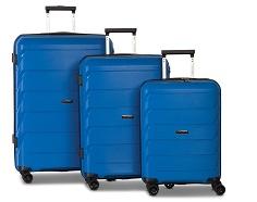 Worldpack Capri Kofferset 32/59/92 Liter Blauw 3-delig