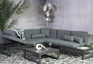 SenS-Line Corner Loungeset Malaga - Aluminium