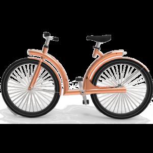 byAr Volta E-Bike Koper Zwart