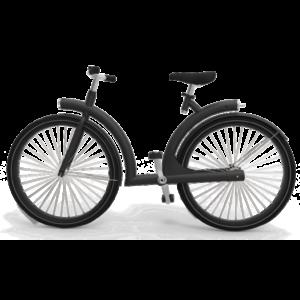 byAr Volta E-Bike Zwart