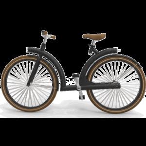 byAr Volta E-Bike Zwart Bruin