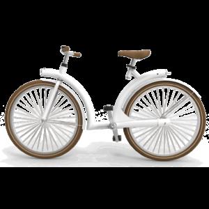 byAr Volta E-Bike Wit Bruin